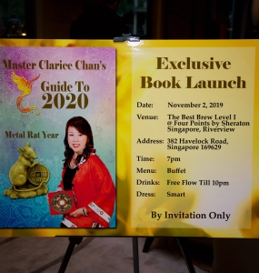 2020 Book Launch Singapore